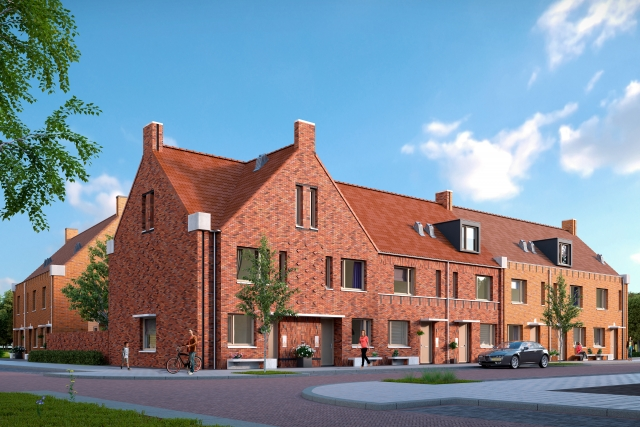 Start nieuwbouw 63 woningen Orthen Links!